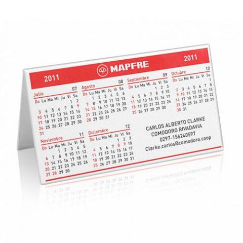 Carpa mini con calendario
