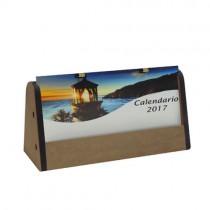 Calendario de madera tipo carpita