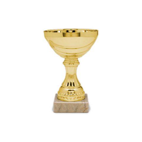 Copa de metal Econox Miel oro