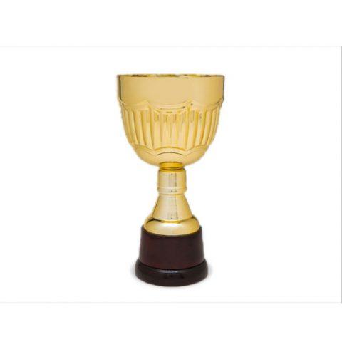 Copa de metal Emporio oro